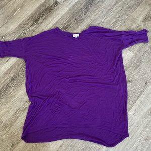 Lularoe small purple comfy top